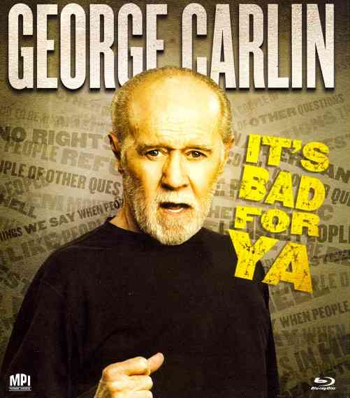 CARLIN IT'S BAD FOR YA BY CARLIN,GEORGE (Blu-Ray)